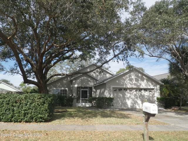 1478 Crane Creek Boulevard, Melbourne, FL 32940 (MLS #894746) :: Blue Marlin Real Estate