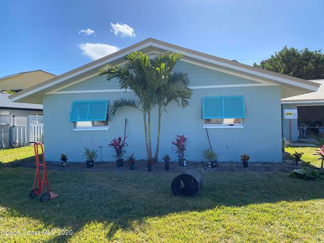 969 Golden Beach Boulevard, Indian Harbour Beach, FL 32937 (MLS #894770) :: Armel Real Estate
