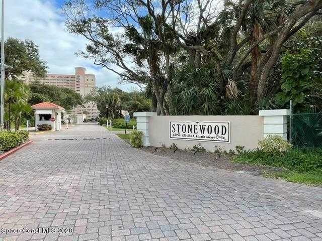 840 N Atlantic Avenue C403, Cocoa Beach, FL 32931 (MLS #895377) :: Blue Marlin Real Estate