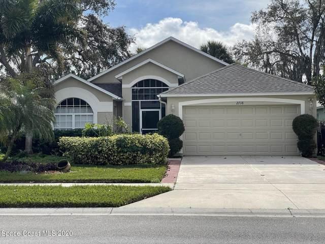 2738 Madrigal Lane, West Melbourne, FL 32904 (MLS #895454) :: Blue Marlin Real Estate