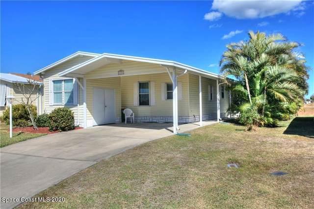 1100 Barefoot Circle, Barefoot Bay, FL 32976 (MLS #897126) :: Dalton Wade Real Estate Group