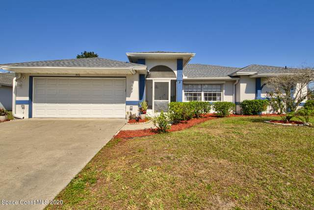 971 Lexington Street NE, Palm Bay, FL 32907 (MLS #897635) :: Blue Marlin Real Estate