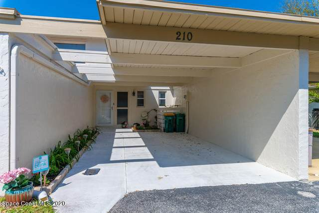 210 Augusta Way, Melbourne, FL 32940 (MLS #897904) :: Premium Properties Real Estate Services