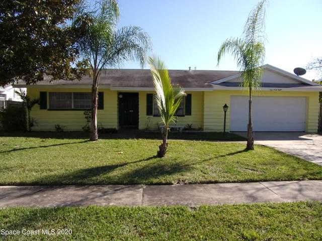 448 Aruba Court, Satellite Beach, FL 32937 (MLS #898000) :: Blue Marlin Real Estate