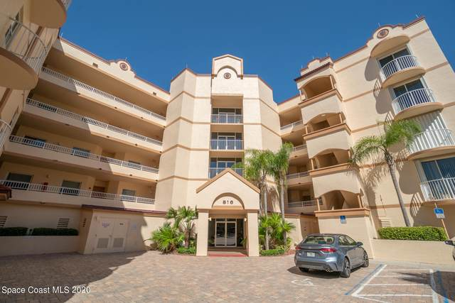 816 Mystic Drive #203, Cape Canaveral, FL 32920 (MLS #898137) :: Premium Properties Real Estate Services