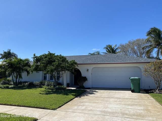 590 Caribbean Drive, Satellite Beach, FL 32937 (MLS #898445) :: Blue Marlin Real Estate