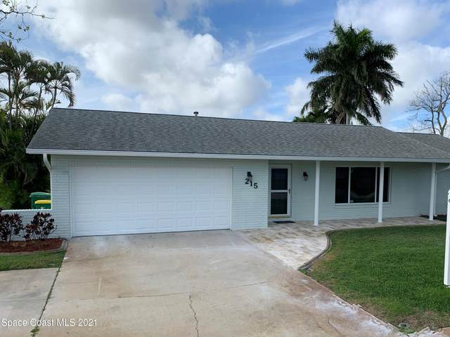 215 Artemis Boulevard, Merritt Island, FL 32953 (MLS #898452) :: Blue Marlin Real Estate