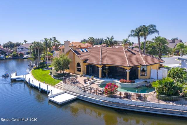 254 Sykes Point Lane, Merritt Island, FL 32953 (MLS #898472) :: Blue Marlin Real Estate