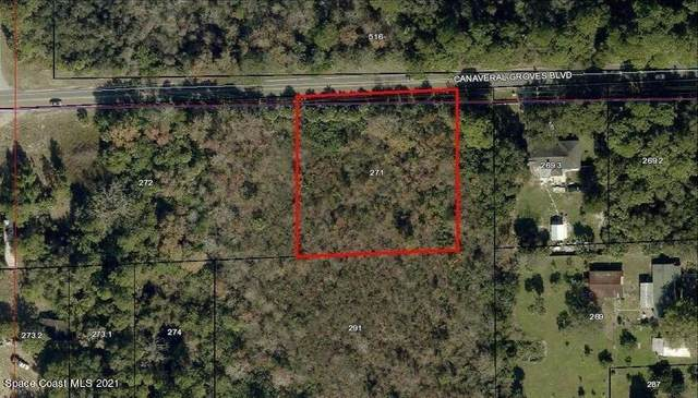 0 Canaveral Groves Boulevard, Cocoa, FL 32926 (MLS #898563) :: Coldwell Banker Realty