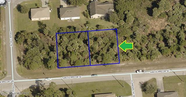 3160-3170 San Filippo Drive SE, Palm Bay, FL 32909 (MLS #898571) :: Coldwell Banker Realty