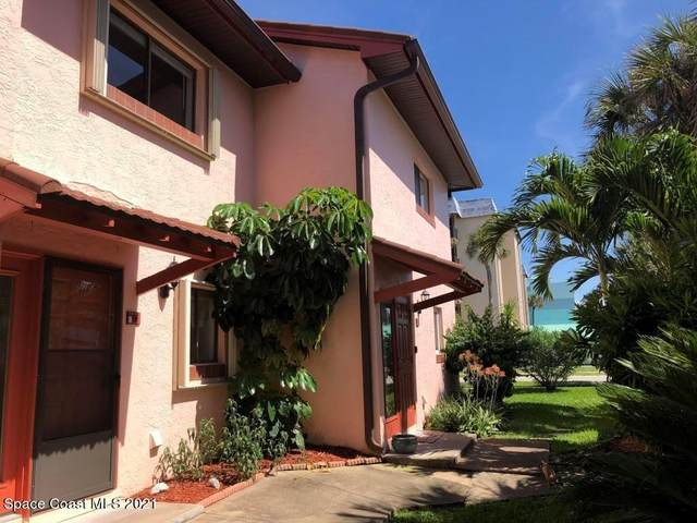 4125 Ocean Beach Boulevard #7, Cocoa Beach, FL 32931 (MLS #898594) :: Coldwell Banker Realty