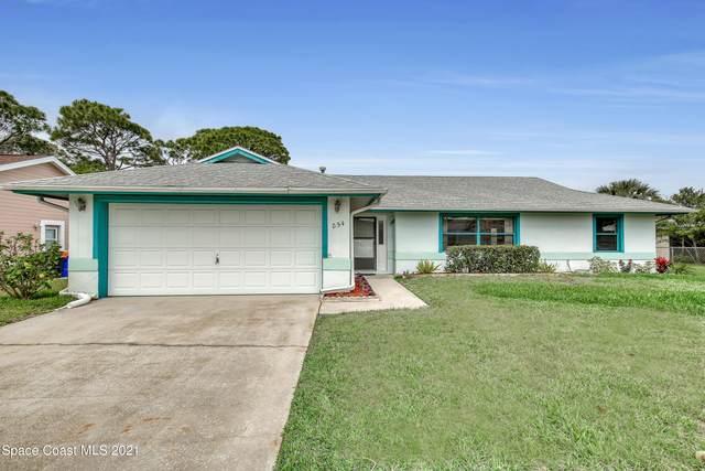 854 Honeysuckle Drive, Rockledge, FL 32955 (MLS #898650) :: Blue Marlin Real Estate