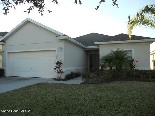 116 Wishing Well Circle SW, Palm Bay, FL 32908 (MLS #898690) :: Blue Marlin Real Estate