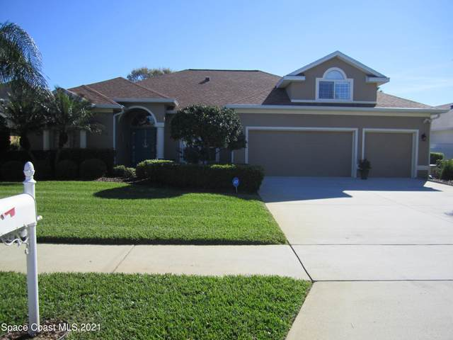 941 Spanish Cay Drive, Merritt Island, FL 32952 (MLS #898778) :: Premium Properties Real Estate Services