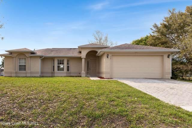 970 Century Avenue SE, Palm Bay, FL 32909 (MLS #898844) :: Premium Properties Real Estate Services