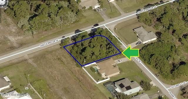 2700 Corner Lot On Planet Avenue SE, Palm Bay, FL 32909 (MLS #898859) :: Armel Real Estate
