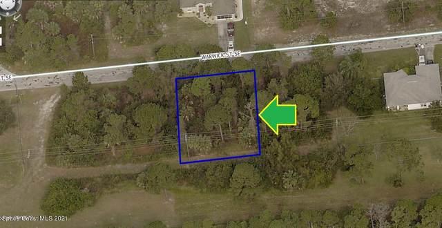 320 Warwick Street SE, Palm Bay, FL 32909 (MLS #898860) :: Premium Properties Real Estate Services