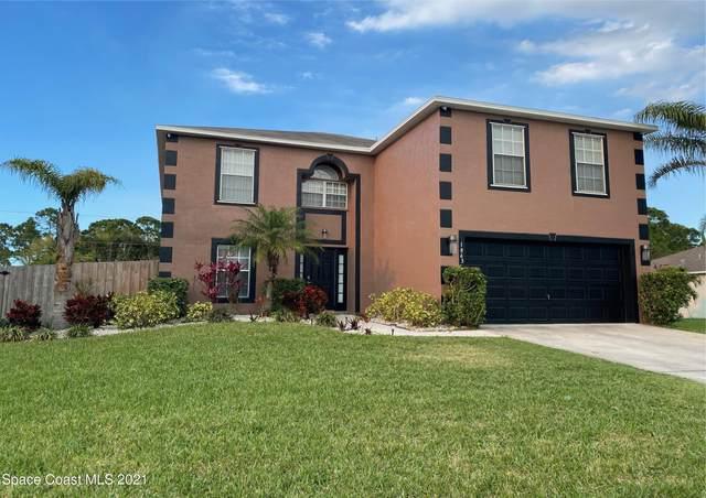 1863 Parrsboro Street NW, Palm Bay, FL 32907 (MLS #898869) :: Premium Properties Real Estate Services