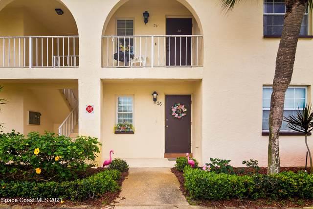 1045 Cheyenne Boulevard #26, Indian Harbour Beach, FL 32937 (MLS #898895) :: Premium Properties Real Estate Services