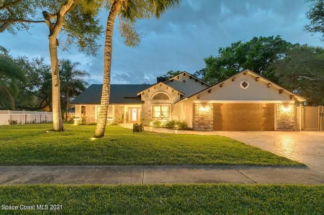 1035 Old Parsonage Drive, Merritt Island, FL 32952 (MLS #898913) :: Premium Properties Real Estate Services