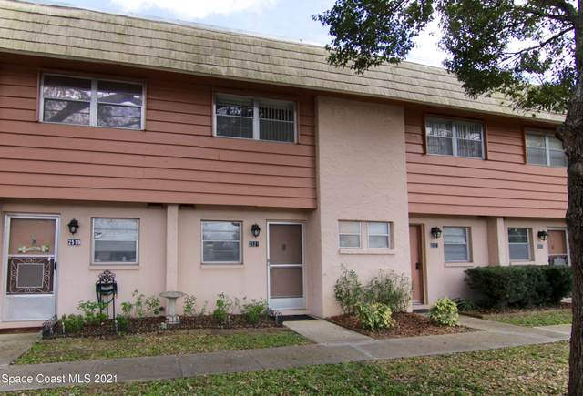 2521 Country Club Drive #123, Titusville, FL 32780 (MLS #898955) :: Premium Properties Real Estate Services