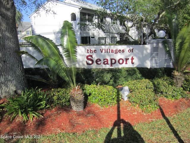 806 Mystic Drive #503, Cape Canaveral, FL 32920 (MLS #899017) :: Premium Properties Real Estate Services