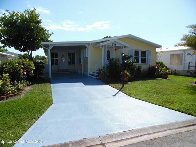 575 Marlin Circle, Barefoot Bay, FL 32976 (MLS #899034) :: Premium Properties Real Estate Services