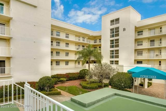 8700 Ridgewood Avenue 402B, Cape Canaveral, FL 32920 (MLS #899263) :: Premium Properties Real Estate Services