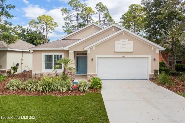 642 Waterside Circle, Titusville, FL 32780 (MLS #899310) :: Blue Marlin Real Estate