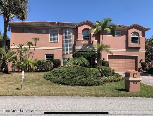 809 Atlantic Street, Melbourne Beach, FL 32951 (MLS #899361) :: Engel & Voelkers Melbourne Central