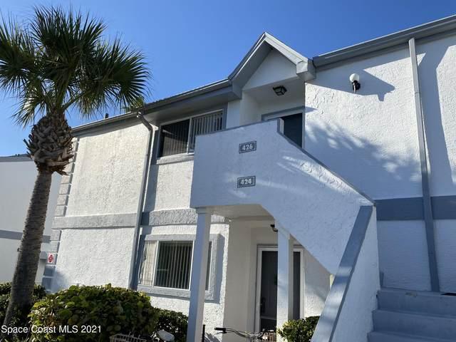 426 Beach Park Lane #174, Cape Canaveral, FL 32920 (MLS #899394) :: Premier Home Experts