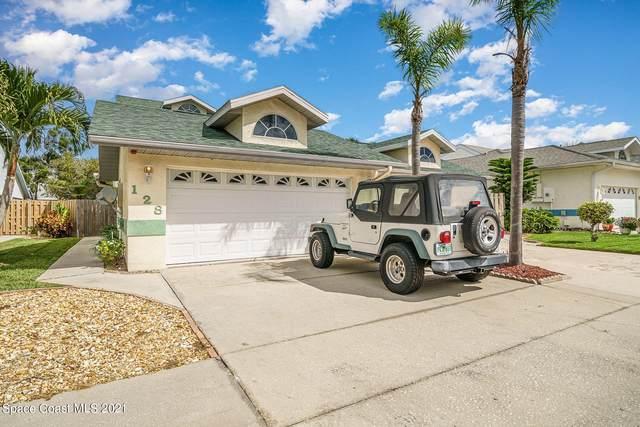 128 Ocean Garden Lane, Cape Canaveral, FL 32920 (MLS #899420) :: Premium Properties Real Estate Services