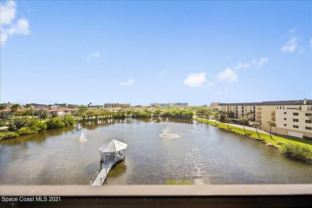 3613 S Banana River Boulevard D-507, Cocoa Beach, FL 32931 (MLS #899464) :: Blue Marlin Real Estate