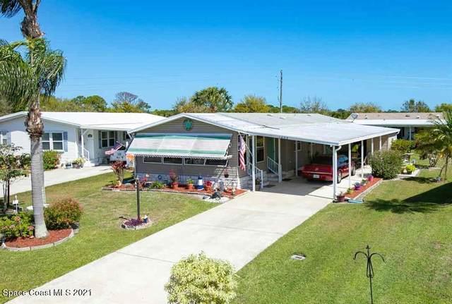 1405 Barefoot Circle, Barefoot Bay, FL 32976 (MLS #899566) :: Engel & Voelkers Melbourne Central