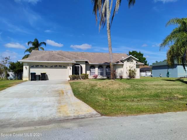 220 Esterbrook Avenue NE, Palm Bay, FL 32907 (MLS #899639) :: Engel & Voelkers Melbourne Central