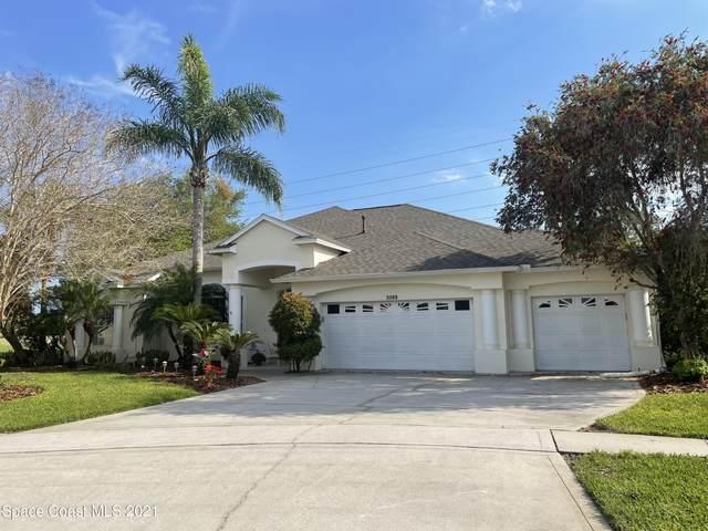3395 Sunset Ridge Drive, Merritt Island, FL 32953 (MLS #899713) :: Premium Properties Real Estate Services