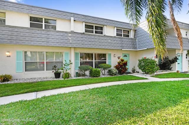 450 Blue Jay Lane #43, Satellite Beach, FL 32937 (MLS #899876) :: Premium Properties Real Estate Services