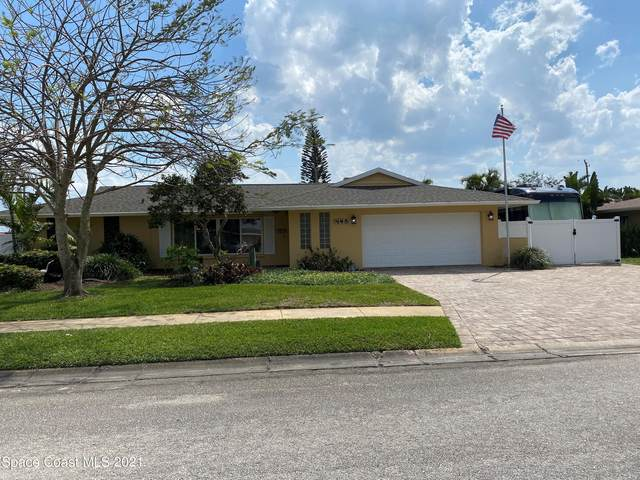 445 Hamlin Avenue, Satellite Beach, FL 32937 (MLS #899900) :: Engel & Voelkers Melbourne Central