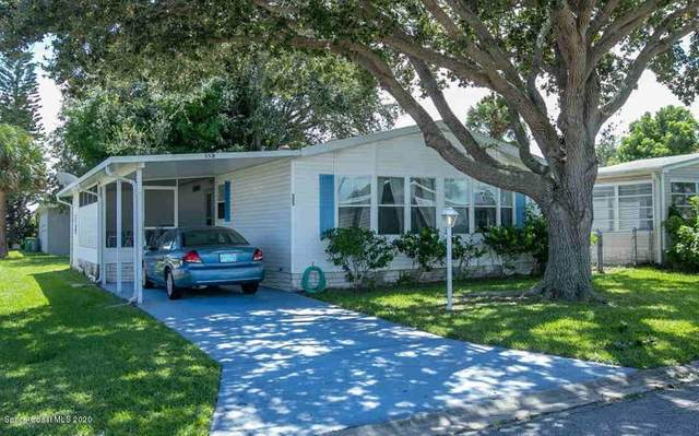 553 Marlin Circle, Barefoot Bay, FL 32976 (MLS #899936) :: Premium Properties Real Estate Services