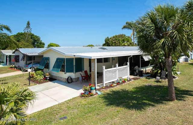 704 Hyacinth Circle, Sebastian, FL 32976 (MLS #900050) :: Engel & Voelkers Melbourne Central
