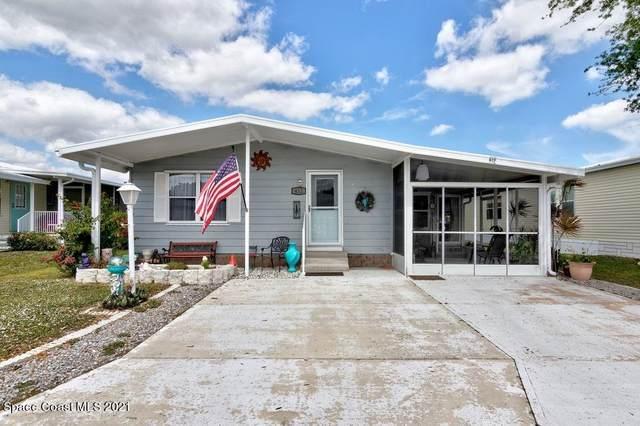 412 Macadamia Drive, Barefoot Bay, FL 32976 (MLS #900326) :: Premium Properties Real Estate Services