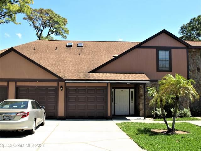630 Greenwood Village Boulevard #31, West Melbourne, FL 32904 (MLS #900442) :: Blue Marlin Real Estate
