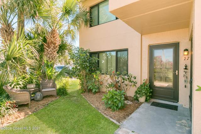 1145 N Shannon Avenue #27, Indialantic, FL 32903 (MLS #900478) :: Engel & Voelkers Melbourne Central