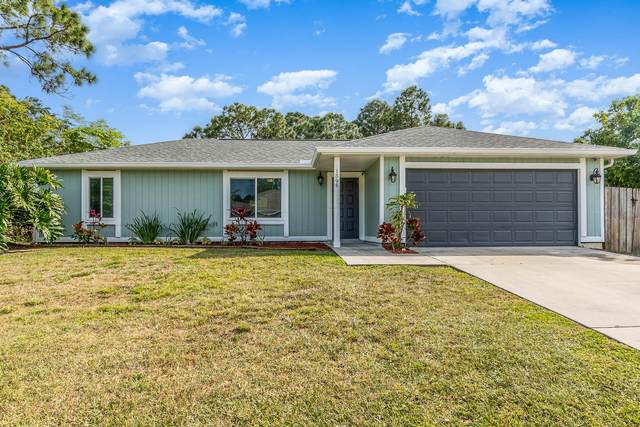 1396 Gilroy Street NW, Palm Bay, FL 32907 (MLS #900520) :: Premium Properties Real Estate Services