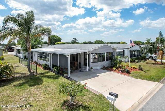 555 Dolphin Circle, Barefoot Bay, FL 32976 (MLS #900761) :: Premium Properties Real Estate Services