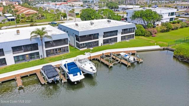 205 S Banana River Boulevard #106, Cocoa Beach, FL 32931 (MLS #900788) :: Premium Properties Real Estate Services
