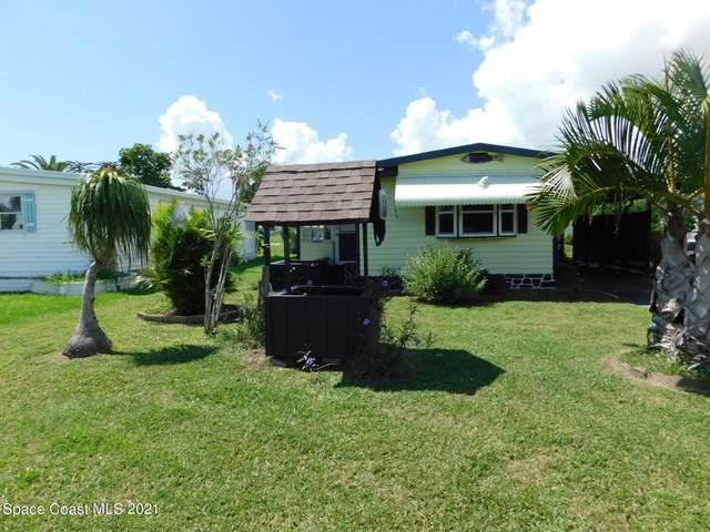 707 Barefoot Boulevard, Barefoot Bay, FL 32976 (MLS #900813) :: Blue Marlin Real Estate