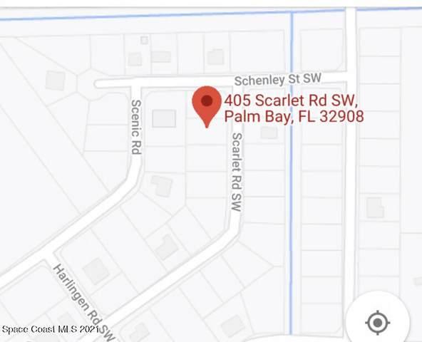 405 Scarlet Road SW, Palm Bay, FL 32908 (MLS #901016) :: Engel & Voelkers Melbourne Central