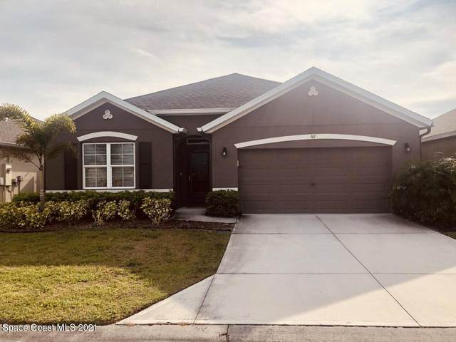 161 Sutherland Drive SW, Palm Bay, FL 32908 (MLS #901025) :: Premium Properties Real Estate Services
