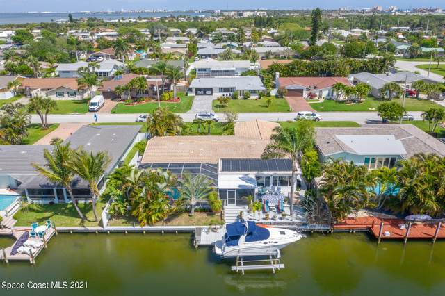 319 Dorset Drive, Cocoa Beach, FL 32931 (MLS #901131) :: Premium Properties Real Estate Services